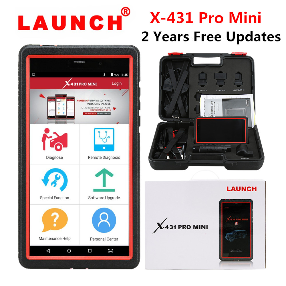 How to register LAUNCH X431 PRO Mini-1